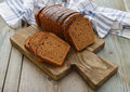Sliced Rye Bread Stock Image - 39308131