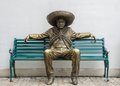 Mexican Man Statue Stock Image - 39309861