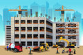 Building Construction Scene Stock Images - 39311164