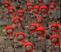 Many Jizo With Red Hat Royalty Free Stock Images - 39314159