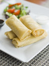 Spring Roll Stock Image - 39314591