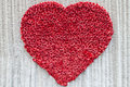 Valentines Day ,Heart Made Of Red Roses Stock Images - 39331774