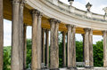 Colonnade From The 18th Century In Potsdam Stock Images - 39333364