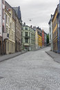 View On Streets And Houses At City Alesund, Norway Stock Image - 39333941