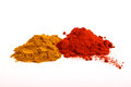 Paprika And Pepper Powder Stock Photos - 39337553