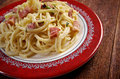 Spaghetti Carbonara Royalty Free Stock Images - 39349669