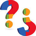 Question Mark Puzzle Royalty Free Stock Image - 39369196