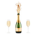 Bottle Of Champagne Royalty Free Stock Photography - 39373577