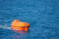 Lifeboat Or Rescue Boat In Offshore, Safety Standard In Offshore Stock Images - 39376394