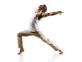 Caucasian Male Dancer Royalty Free Stock Photo - 39376565