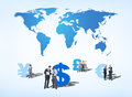 Business People Discussing About Global Finance Stock Images - 39385334