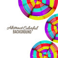 Abstract Colorful Rainbow Curve Background Design. Stock Photo - 39393500
