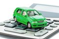 Car And Calculator Royalty Free Stock Photo - 39393795