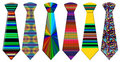 Colored Neckties Royalty Free Stock Photo - 3947355