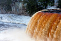 Tahquamenon Falls In The Upper Peninsula Of Michigan In Winter Royalty Free Stock Photography - 39406267