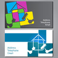 Business Card For Painting Houses Royalty Free Stock Image - 39407146