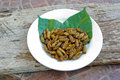 Fried Pupa Royalty Free Stock Photo - 39412955