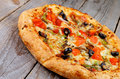 Black Olives Pizza Royalty Free Stock Images - 39435319