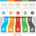 Modern Banner Infographic Royalty Free Stock Photography - 39439137