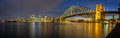 Sydney Harbour Panorama Royalty Free Stock Photos - 39455918