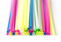 Close Up Color Craft Straws Stock Photography - 39456992