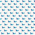 Horse Seamless Pattern, Triangle Horse. Abstract Horse Of Geomet Stock Photo - 39460050
