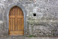 Old Church Back Door Stock Photography - 39468042