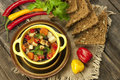 Traditional Bean Soup In The Bowl Stock Photos - 39477493