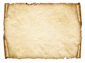 Scroll Old Paper Sheet, Vintage Aged Old Paper. Royalty Free Stock Images - 39491879