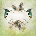 Vintage Background With Butterfly Royalty Free Stock Image - 39502386