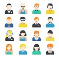 Avatar Character Icons Set Stock Photography - 39503042