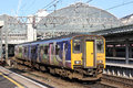Local Train Arriving At Manchester Piccadilly Stock Photography - 39505762