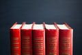 Red Books Royalty Free Stock Photos - 39527548