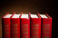 Red Books Stock Images - 39527584