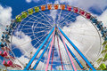 A Ferris Wheel On A Fair Royalty Free Stock Photo - 39531545