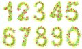 Set Of Numbers Royalty Free Stock Photos - 39557938