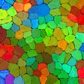 Abstract Rainbow Colorful Tiles Mozaic Painting Geometric Pallette Pattern Background On Wall 5 Royalty Free Stock Image - 39561396