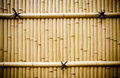 Plastic Bamboo Fence In Japan Royalty Free Stock Photography - 39567257
