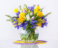 Bouquet Of Spring Flowers Stock Images - 39567334