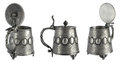 Antique Pewter Beer Tankard Stock Image - 39588901