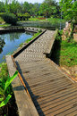 Wooden Path Royalty Free Stock Photography - 39617187