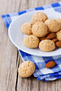 Sweet Almond Cookies Royalty Free Stock Photography - 39617677