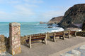 View From St Agnes Cornwall England UK Royalty Free Stock Photo - 39619105