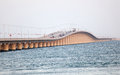 King Fahd Causeway In Bahrain Royalty Free Stock Image - 39631046