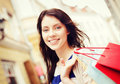 Woman With Shopping Bags In City Royalty Free Stock Photography - 39636597