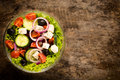 Organic Salad Royalty Free Stock Images - 39642659