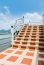 Concrete Stair Steps And Railing Stock Photo - 39652360