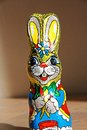 Chocolate Easter Bunny Royalty Free Stock Photography - 39655837