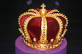 Royal Gold Crown Royalty Free Stock Photography - 39656697