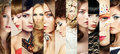 Beauty Collage. Faces Of Women Royalty Free Stock Photo - 39666735